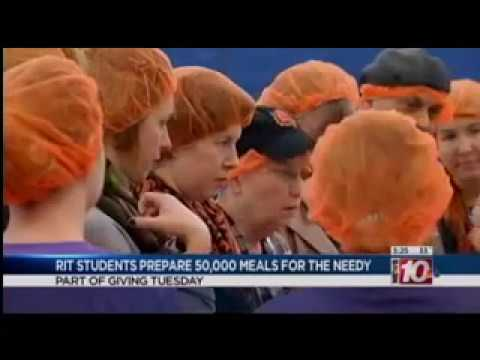 RIT on TV: Giving Tuesday
