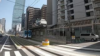 雲電車復活‼️(阪堺電気軌道モ161型164号車)