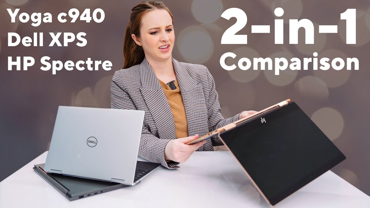 "Yoga c940 vs Dell XPS vs Hp Spectre | 13"" 2-in-1 Comparison"