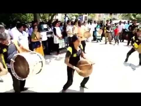 ஆக்ஹ்கா செம்ம குத்து  தப்பாட்டம் Tamil Thappattam Drums360p