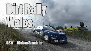 Dirt Rally Wales OSW + Motion Simulator 4K