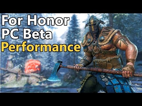 For Honor BETA PC Performance Review | 480 vs 1060