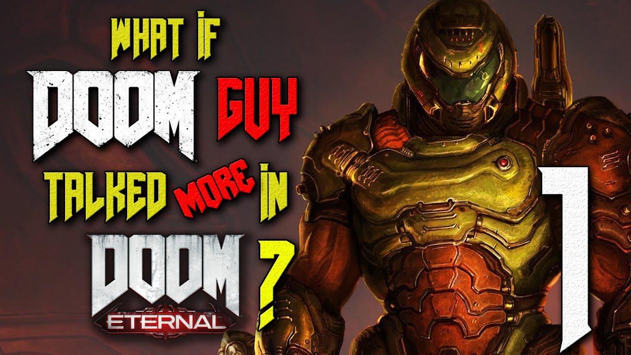 What If Doom Guy Talked More In Doom Eternal Parody Part 1