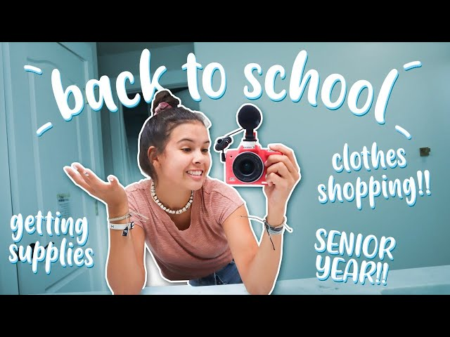BACK TO SCHOOL: getting supplies, organizing, and online SHOPPiNG!