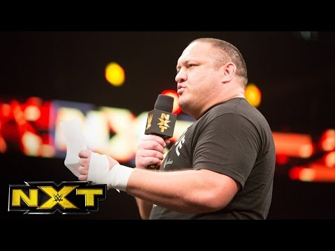 Samoa Joe demands the NXT Championship back: WWE NXT, Sept. 21, 2016