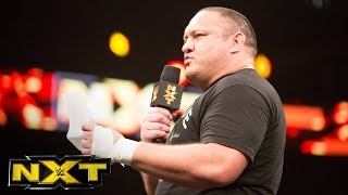 Samoa Joe demands the NXT Championship back: WWE NXT, Sept. 21, 2016