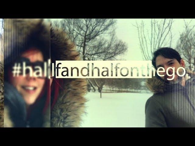 This is #halfandhalfonthego!