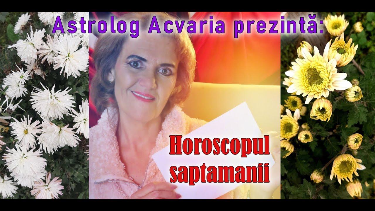 ⭐ HOROSCOPUL SAPTAMANII 23-29 NOIEMBRIE 2020 prezentat de astrolog ACVARIA
