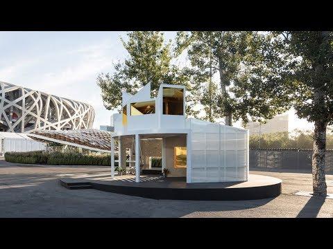 Penda and MINI Living's Urban Cabin draws from Beijing hutongs | Architecture | Dezeen