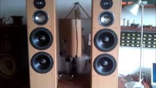 Testul de sunet cu boxele ELTAX CONCEPT 400