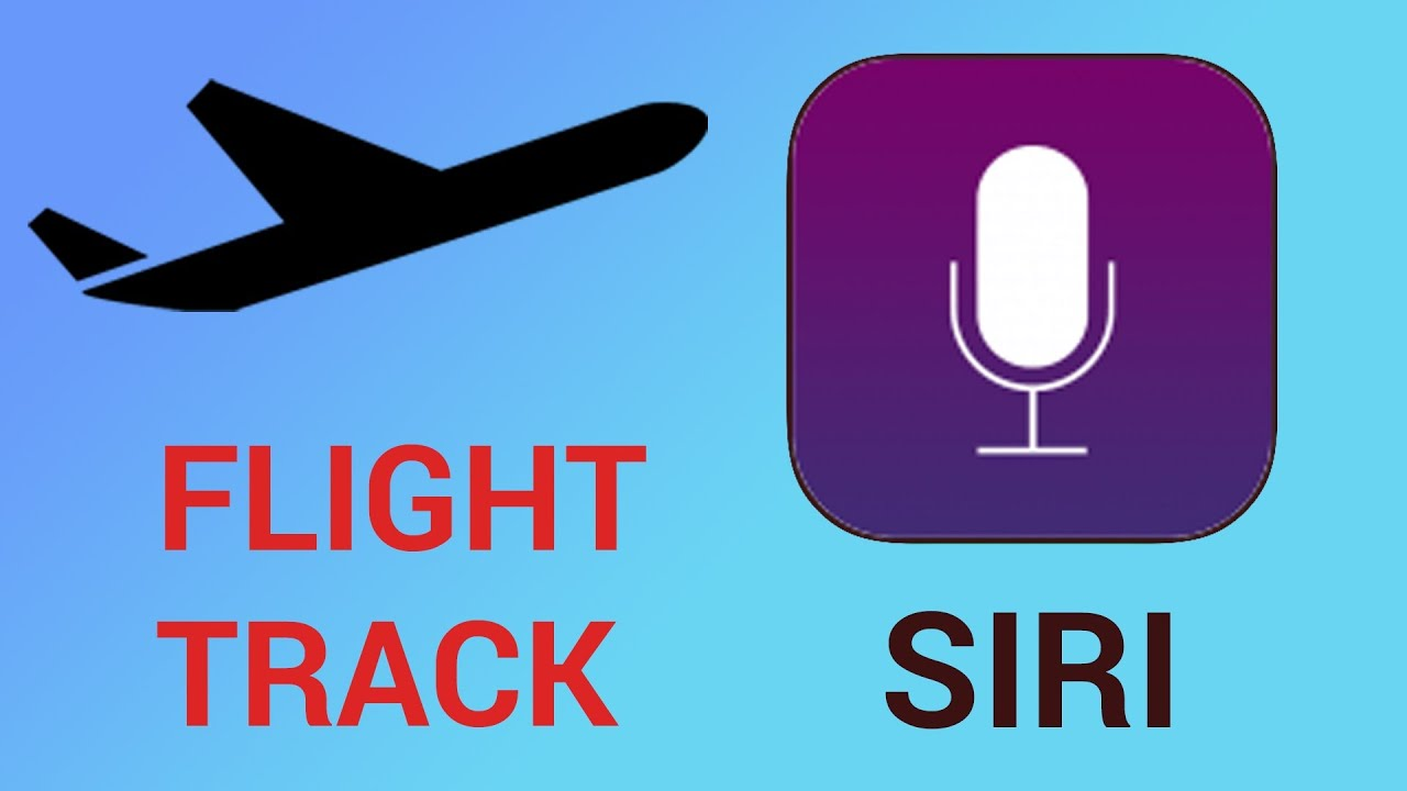 How to see airplane flight track over me on iPhone and iPad