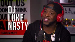 DJ Luke Nasty Explains the Use of His Tongue & Talks Coming Up DJ