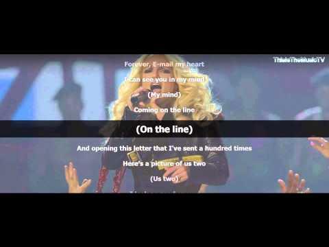 Britney Spears - E-mail My Heart - Lyrics On Screen