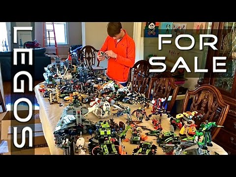 Colossal Lego Collection For Sale - YouTube