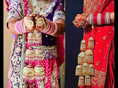 TOP Beautiful Punjabi Wedding Bangle Choora And Kalire Designs Indian