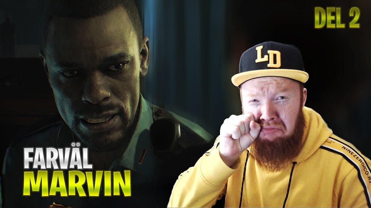 FARVÄL MIN VÄN MARVIN! ;( // RESIDENT EVIL 2 REMAKE PLAYTHROUGH - DEL 2