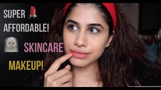 AFFORDABLE Skincare & Makeup Routine in minutes! | Malvika Sitlani
