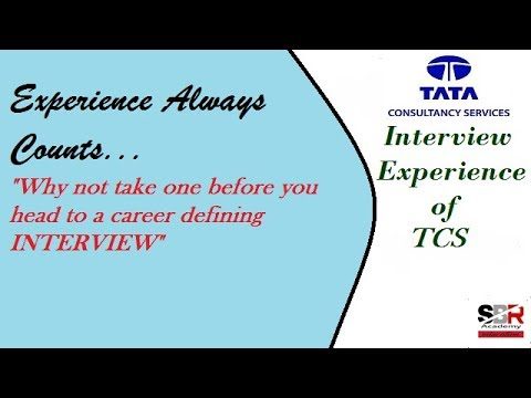 Interview Experience Of Tata Consultancy Services Tcs
