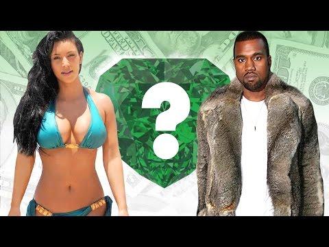 WHO'S RICHER? - Kim Kardashian or Kanye West? - Net Worth Revealed! (2016)