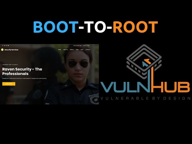 Raven1 VulnHub CTF Walkthrough - Boot-To-Root