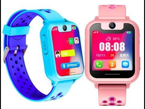 Детские Смарт-часы S10 с Камерой и GPS!  Smart Children GPS Watch S10.