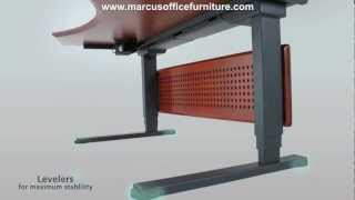 Adjustable Motorized Sit And Stand Ergonomic Desk