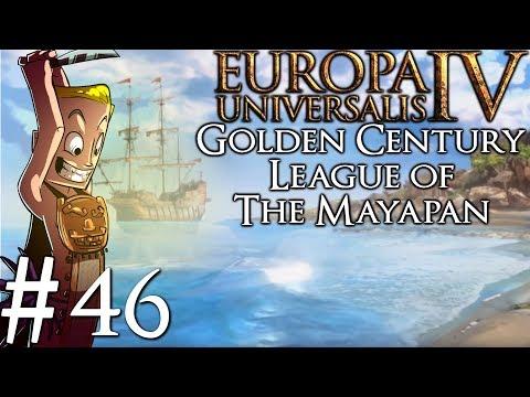 Europa Universalis 4 Golden Century | Huastec League of the Mayapan Time Lapse |
