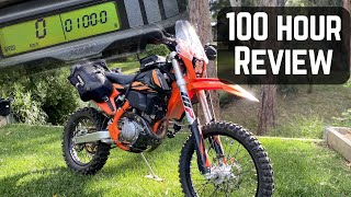 100 hr review, KTM 500 EXC-F.  Best bike ever!