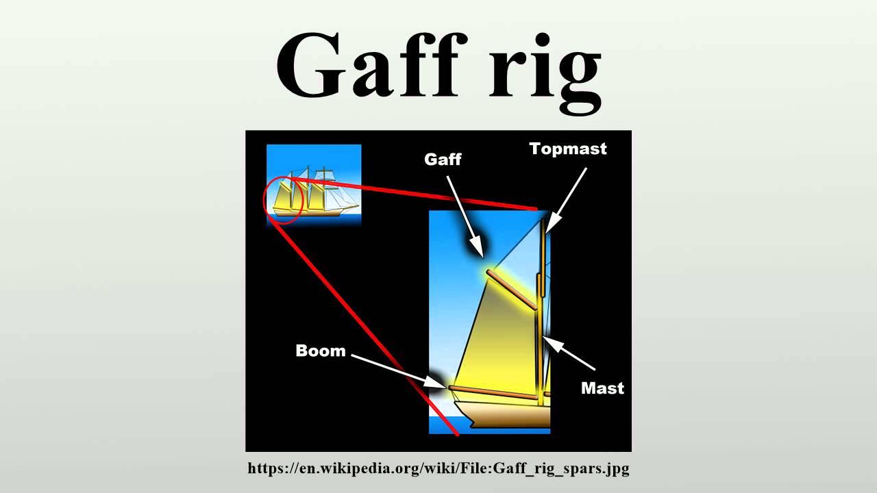 Gaff rig