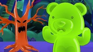 страшные леса Kids Song Scary Woods Jelly Bears Russia русский мультфильмы для детей