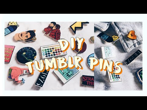📌DIY shrink pins | pin backing hack