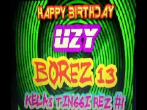 happy b'day uzy borez 13 by dj jimm on the mix