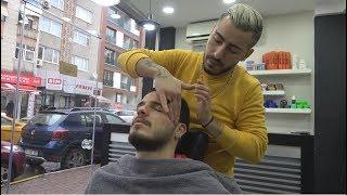 ASMR Turkish Barber Face, Head and Body Massage 210 💆♂️👍💈