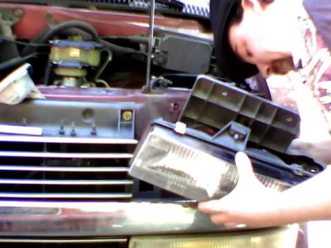 How to Change a Headlight out of a 1995 Chevy ASTROGMC