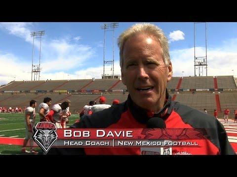 2014 Lobo Football | Coach Bob Davie: Spring Practice #6 Wrap Up