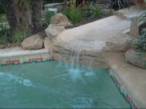 Cascade youtube - Piscine avec cascade ...