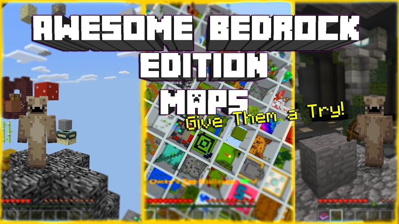 Minecraft Awesome Bedrock Edition Maps To Try Out2018