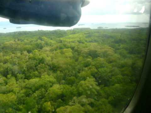 Flight from Honiara to Gizo (Solomon Island) Feb 2008