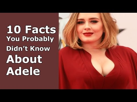 Bbw Celeb | 10 Interesting Facts You Probably Didn't Know About Adele