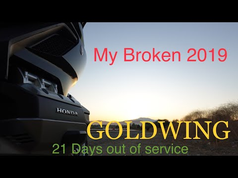 2019 Broken Honda GoldWing Oil Light Problem Part 1 2018 2020 Broke Gold Wing Review Service New