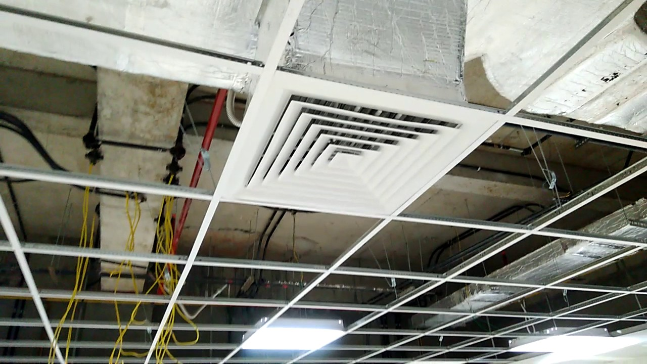 Mechanical Engineering Air Handling Unit Ahu Ducting And