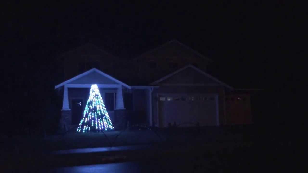 Seahawks Christmas Lights.Seattle Seahawks Christmas Lights Ultimate 12th Man House