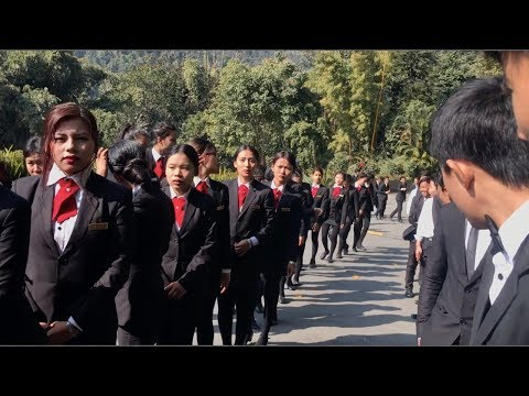 5 Star Luxurious Hotel Mayfair Spa Resort & Casino   College Tour   Sikkim Day 3, Vlog 5   2018