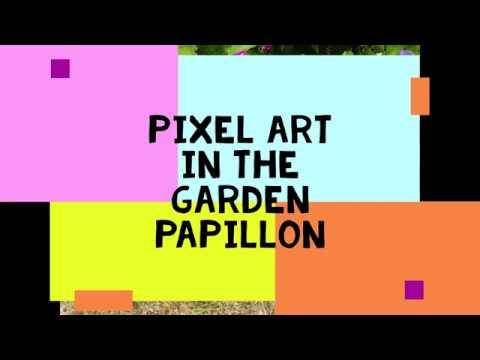 Pixel Art Garden Papillon Youtube