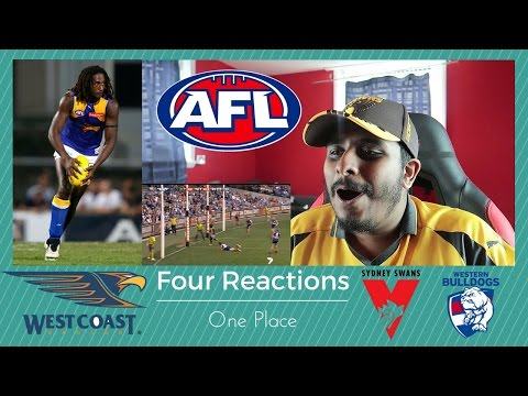 Reaction to #AFL: Swans v Bulldogs 2016, Nic Natanui & Tony Lockett
