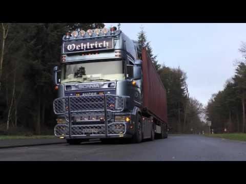 Scania 164L V8 580 SOUND 'On the Road' - Filmmix [HD]