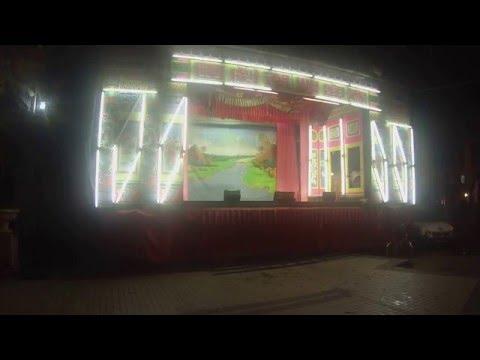 Teatro chino en el barrio Chinatown de Georgetown, Malasia