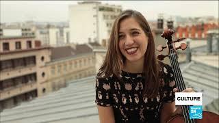 French cellist captivates Paris with lockdown concerts