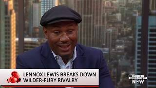 Lennox Lewis on Deontay Wilder, Tyson Fury & Anthony Joshua | SI Now | Sports Illustrated