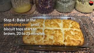 Butter Swim Biscuits SHORT RECIPE